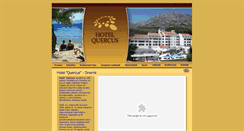 Preview of hotelquercus.com.hr