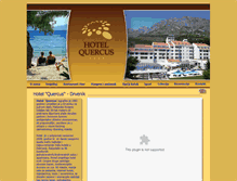 Tablet Preview of hotelquercus.com.hr